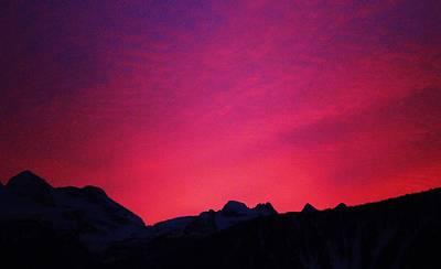 Reve Sunset Art Print by Allister Pitts