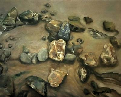Painting - Revealed At Low Tide by J Reynolds Dail