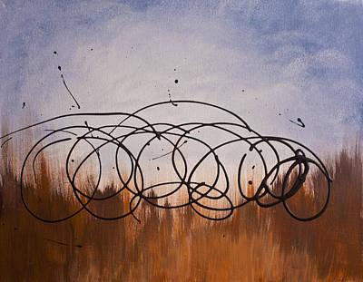 Tumbleweed Painting - Revealed Next Morning by Jeff Kim