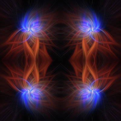 David Bowie Royalty Free Images - Revealed Light. Mystery of Colors Royalty-Free Image by Jenny Rainbow