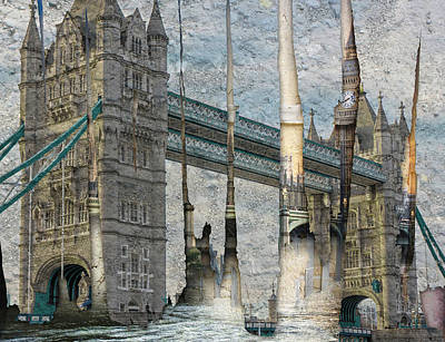 Big Ben Mixed Media - Revealing London by Ruta Naujokiene