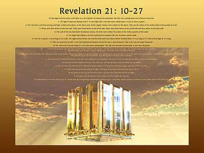 Revelation Twenty-one Art Print