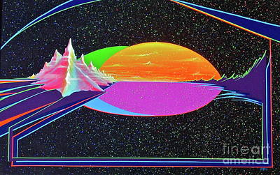Painting - Revelations New Earth by Alan Johnson