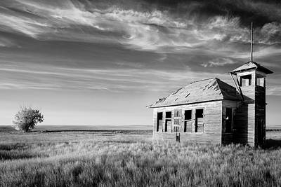 One Room Schoolhouse Photograph - Revelations by Todd Klassy