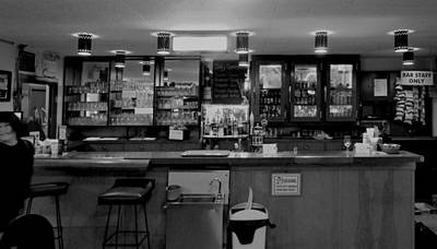 Photograph - Revelstoke Legion Bar by David Pantuso