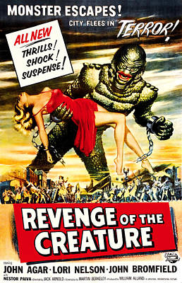 Revenge Of The Creature, 1955 Art Print by Everett