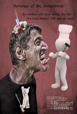 Mixed Media - Revenge Of The Doughboys by Paula Ayers