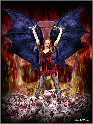 Photograph - Revenge Of The Succubus by Jon Volden