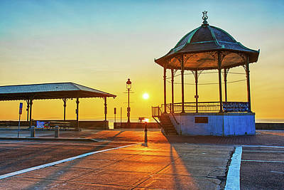Photograph - Revere Beach Bandstand At Sunrise Revere Beach by Toby McGuire