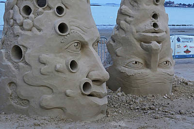 Photograph - Revere Beach Sand Sculptures 2017 Revere Ma by Toby McGuire