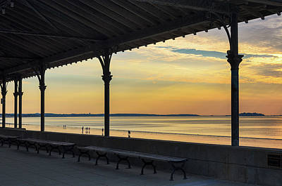 Photograph - Revere Beach Sunrise by Mike Ste Marie