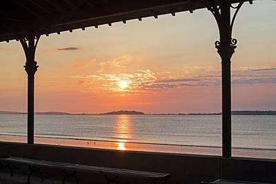 Photograph - Revere Beach Sunrise Revere Ma Clouds by Toby McGuire
