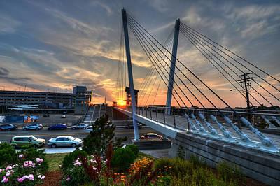 Photograph - Revere Beach Wonderland Station Bridge by Toby McGuire
