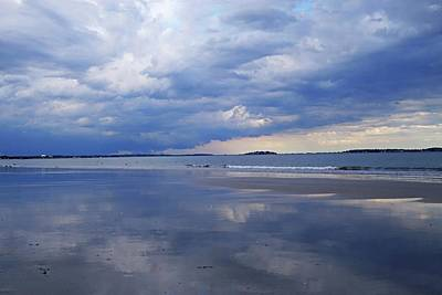 Photograph - Revere Ma Storrmy Weather Revere Beach by Toby McGuire