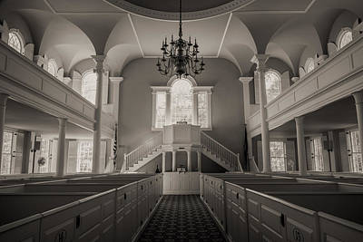 Bennington Photograph - Reverence - Old First Church Of Bennington by Stephen Stookey