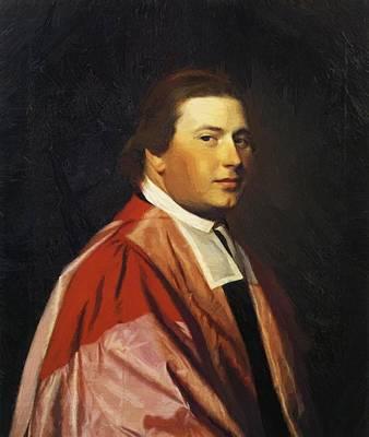 Painting - Reverend Myles Cooper 1769 by Copley John Singleton