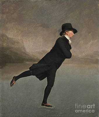 Skating Painting - Reverend Robert by Henry Raeburn