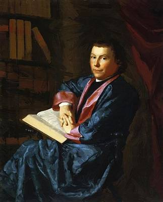 Painting - Reverend Thomas Cary by Copley John Singleton