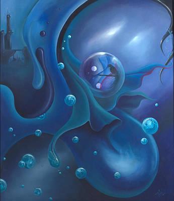 Reverie In Blue Original