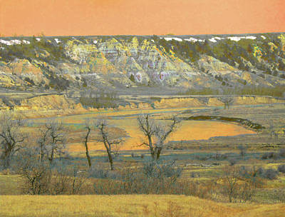 Wall Art - Photograph - Reverie Of The Little Missouri by Cris Fulton