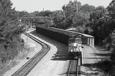Photograph - Reverse Coal Train by Joseph C Hinson Photography