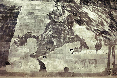 Photograph - Tiber Reverse Graffiti  by JAMART Photography