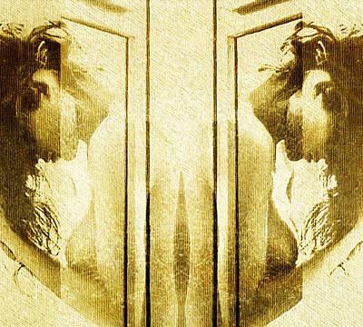 Digital Art - Reversed Mirror by Andrea Barbieri