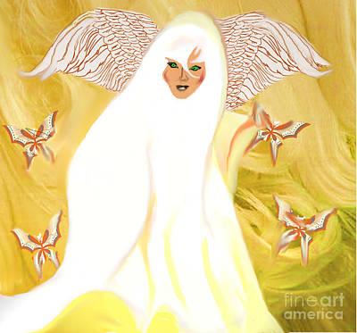 Painting - Revitalization/rebirth by Belinda Threeths