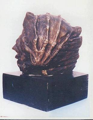 Sculpture - Revolution - II - Side View by Rooma Mehra