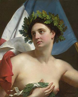 Christian Artwork Painting - Revolution by Merry-Joseph Blondel