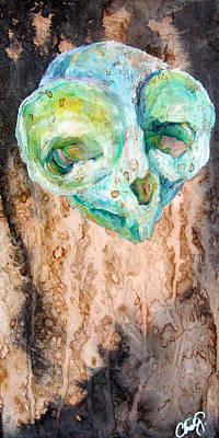 Painting - Revolution Tarsier by Christy Freeman Stark