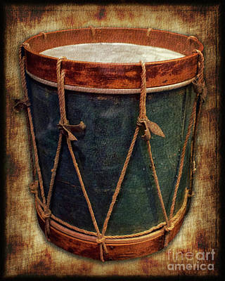 Photograph - Revolutionary Drum by Mark Miller