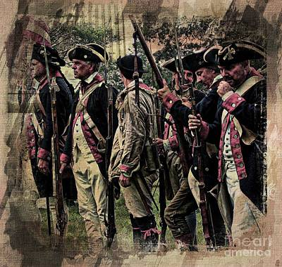 Photograph - Revolutionary Soldiers  by Marcia Lee Jones