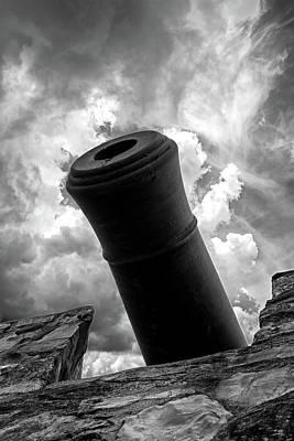Photograph - Revolutionary War Cannon by John Haldane