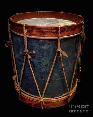 Photograph - Revolutionary War Drum by Mark Miller