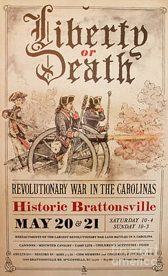 Photograph - Revolutionary War Poster by Kevin McCarthy