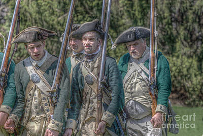 Revolutionary War Soldiers 1 Art Print