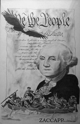 Revolutionary War Art Print by Zachary  Capodici