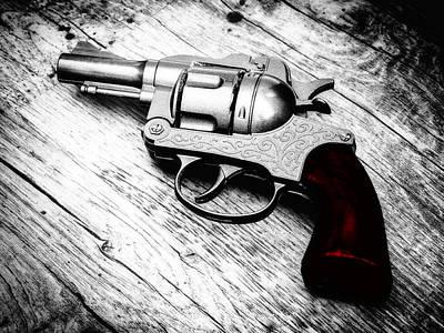 Film Noir Photograph - Revolver by Wim Lanclus