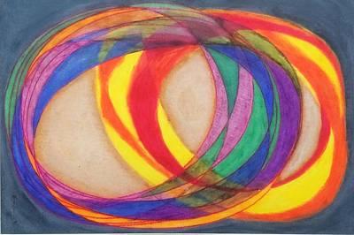 Pastel - Revolving by Steve Sommers
