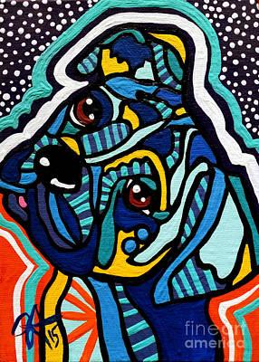 Sports Paintings - Rex Dog Weimaraner Puppy Pup Pet Boxer Fox Hound Terrier Retriever Labrador  Jackie Carpenter by Jackie Carpenter