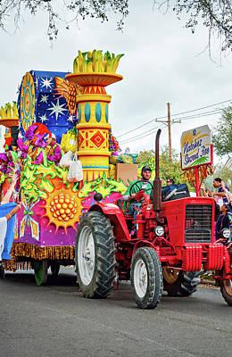 Photograph - Rex Mardi Gras Parade - Natchez Sacred Fire by Steve Harrington