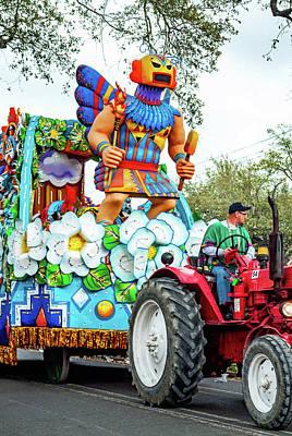Photograph - Rex Mardi Gras Parade Vb by Steve Harrington