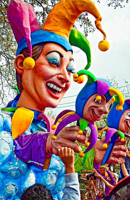 Rex Mardi Gras Parade Xi Art Print by Steve Harrington