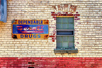Photograph - Rexall Drugs Sign Hermann Mo_dsc3130_16 by Greg Kluempers