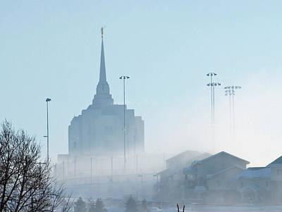 Photograph - Rexburg Day Dawn Is Breaking by DeeLon Merritt