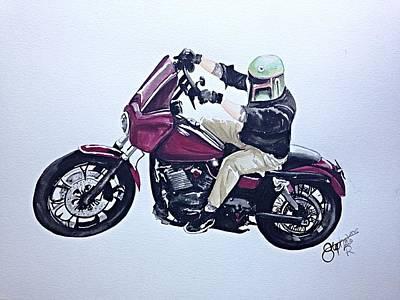 Rex's Ride Art Print