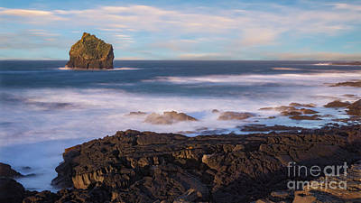 Photograph - Reykjananes Sea Stack by Jerry Fornarotto