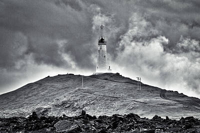 Photograph - Reykjanes Lighthouse by Stuart Litoff