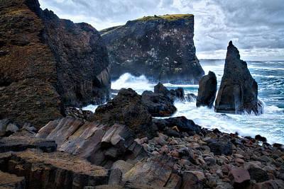 Photograph - Reykjanes Peninsula Coast #2 - Iceland by Stuart Litoff